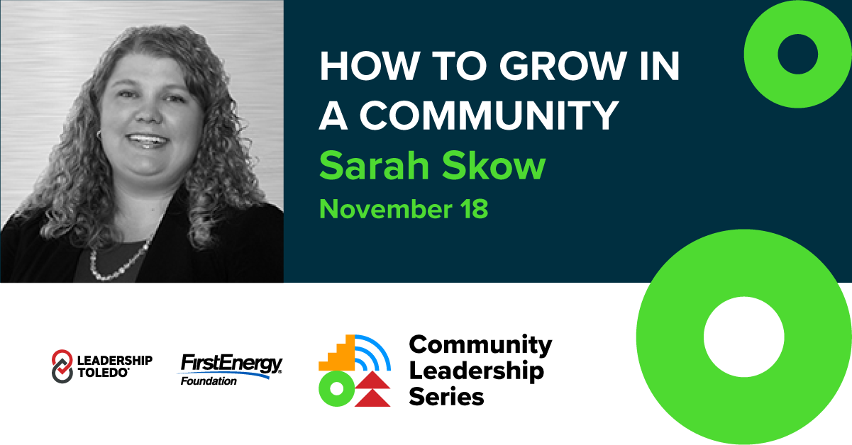 Community Leadership Series Sarah Skow